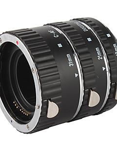 de haute qualité de 3 pièces tube d'extension macro fixé pour canon eos-- noir