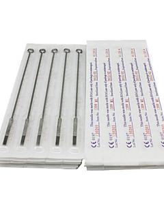 50stk sterile rustfrit stål tatovering nåle 25 7m1 25 9m1