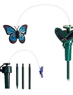alimentat cu energie solară zbor fâlfâind fluturi monarh de plante de grădină