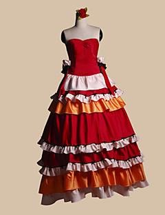 Inspired by Code Gease Kallen Stadtfeld Anime Cosplay Costumes Cosplay Suits Patchwork Red Top