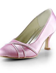 Wedding Shoes - Saltos - Saltos - Preto / Azul / Rosa / Vermelho / Marfim / Branco / Prateado - Feminino - Casamento