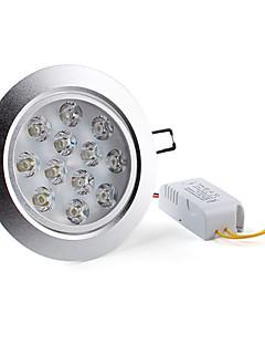 Lampes Encastrées / Plafonniers Blanc Naturel Encastrée Moderne 12 W 12 LED Haute Puissance 1200 LM AC 85-265 V