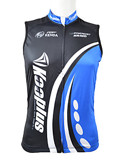 KOOPLUS® Cycling Jersey Men's Sleeveless Bike Breathable / Quick Dry / Front Zipper / Wearable Vest/Gilet / Tops 100% PolyesterSpring /
