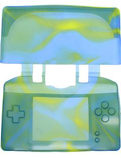 닌텐도 DSL (여러 색)에 대한 보호 위장 실리콘 케이스