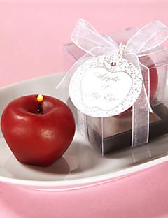 Garten Thema Candle Favors Stück / Set Kerzen Nicht-individualisiert Rot