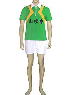 cosplay puku innoittamana Prince of Tennis-yamabuki yläasteen kesä urheilu yhtenäinen