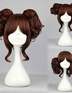 Lolita Wig Inspired by Mori Girl Brown 35cm Casual