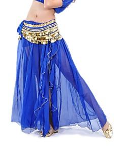 Women Chiffon Belly Dance Performance Skirt