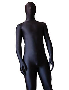 Black Spandex Lycra Unisex Zentai Suit