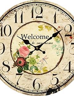 Ülkenin çiçek duvar saati