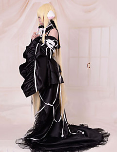 Cosplay Costume Inspired by Chobits Chii Deluxe Black Dress