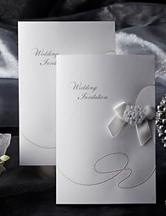Hochzeits-Einladungen Seitlich gefaltet Einladungskarten Unpersonalisierte 50 Stück / Set