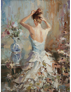 Stretched Canvas Art People Lady by Steve Henderson Ready to Hang