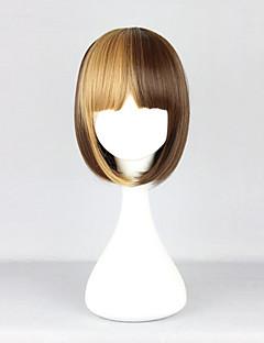Chocolate and Blonde Two Tone Short Bob 30cm Lolita Wig