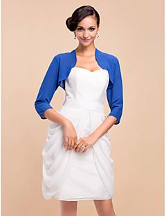 Wedding / Party/Evening Coats/Jackets 3/4-Length Sleeve Wedding  Wraps