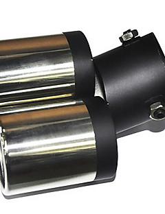 Universal Stainless Steel Muffler for Køretøjer Exhaust Pipe (63mm-Indvendig diameter) LMC-M-041