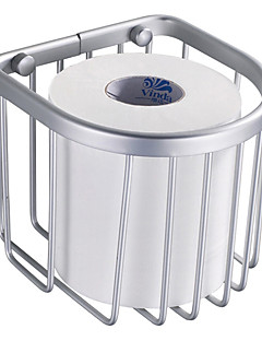 Moderne Space Aluminium Kurv Toiletpapirholder