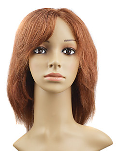 "Lace Front 100% Indian Remy Hair 10"" Silky Straight Hair Wigs Multiple Colors Availble"