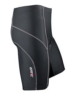 SANTIC Biciklističke kratke hlače s jastučićima Muškarci Bicikl Kratke hlače Hlače Donji Prozračnost Quick dry Podesan za nošenjeSpandex