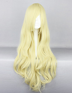 Blonde 80cm Princess Lolita Curly Wig