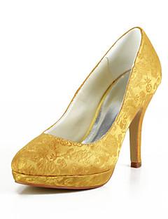 Wedding Shoes - Saltos - Saltos / Plataforma - Amarelo - Feminino - Casamento