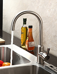 Sprinkle® Kitchen Faucets  ,  Contemporary  with  Brushed Single Handle One Hole  ,  Feature  for Centerset