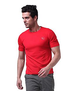 manches courtes hommes langzuyoudang séchage rapide respirabilité sport t-shirt noir, blanc, rouge