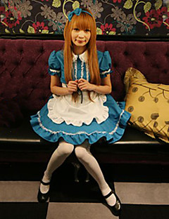 Süße Mädchen Gastfreundlich Ocean Blue Magd Uniform