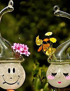 centros de mesa florero de cristal del muñeco de nieve deocrations mesa (bricolaje)