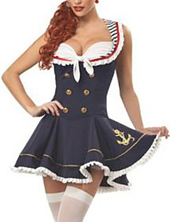 Sexy  Sailor Uniform Fancy Halloween Costume (2Pieces)