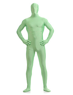 Moss Green Unisex Lycra Full Body Zentai