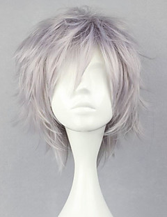 Cosplay Wigs Final Fantasy Hope Estheim Silver Short Anime/ Video Games Cosplay Wigs 32 CM Heat Resistant Fiber Male