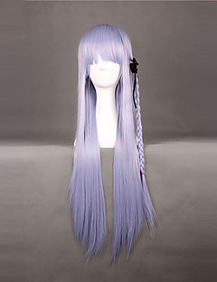 Cosplay Wigs Dangan Ronpa Kyoko Kirigiri Purple Long Anime/ Video Games Cosplay Wigs 80 CM Heat Resistant Fiber Female