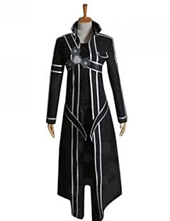 Inspired by Sword Art Online Kirito/Kazuto Kirigaya Cosplay Costume
