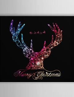 Le renne de toiles tendues Art du Père Noël