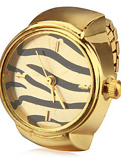 Women's Wave Pattern Alloy Quartz Analog Ring Watch (Assorted Colors) Cool Watches Unique Watches Fashion Watch