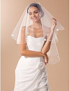 Monista dedo véu do casamento com lápis de ponta e Arcos