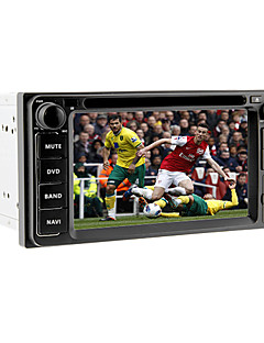6.2Inch 2 Din Universal Car DVD Player for Toyota Before 2006 with GPS,IPOD,RDS,BT,Touch Screen