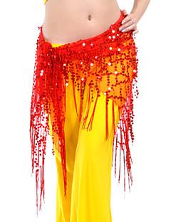 ρούχα κοιλιά πολυεστέρα ζώνη χορού με φούντες για τις κυρίες (περισσότερα χρώματα)