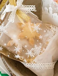 De flocon de neige sacs de faveur - Ensemble de 50