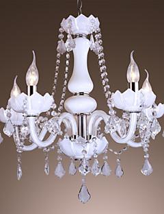 Lámparas Araña ,  Tradicional/Clásico Bronce Característica for Cristal Acrílico Sala de estar Dormitorio Comedor