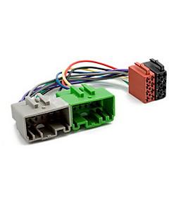 ISO Wire Harness Plug Adapter för VOLVO S40 V40 S70 V70 S60 S80