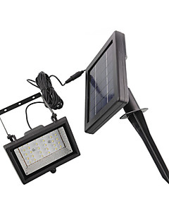 30-LED alb de lumină LED-uri de lumină solară Gradina Flood Spot Light Lawn Lamp