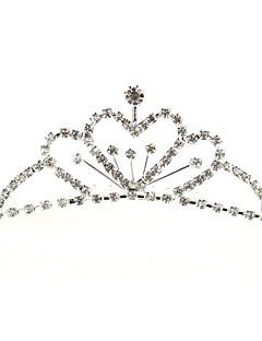 Dame Rhinestone/Legering Headpiece Bryllup/Spesiell Leilighet Diademer Bryllup/Spesiell Leilighet