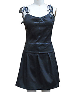 Inspired by The Future Diary Gasai Yuno Anime Cosplay Costumes Cosplay Suits / Dresses Solid Black Sleeveless Dress