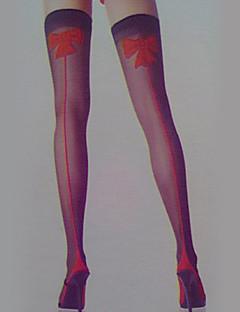 Ponožky a punčochy Festival/Svátek Halloweenské kostýmy Červená / Černá Punčocháče Halloween / Karneval Dámské elastan / Nylon