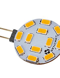 Spot LED Blanc Chaud / Blanc Froid G4 5W 12 SMD 5730 300-320 LM DC 12 / AC 12 V