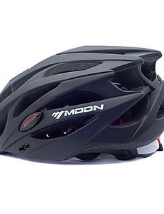 LUA Ciclismo Preto PC + EPS 25 Vents MTB capacete protetor