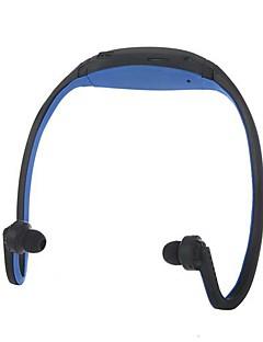 hovedtelefon løbet øre sport mp3 wma musikafspiller tf / micro SD-kort slot headset til iPhone 6