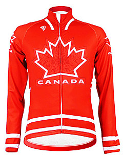 Kooplus - Canadian National Cycling Team de manga larga Fleece Jersey